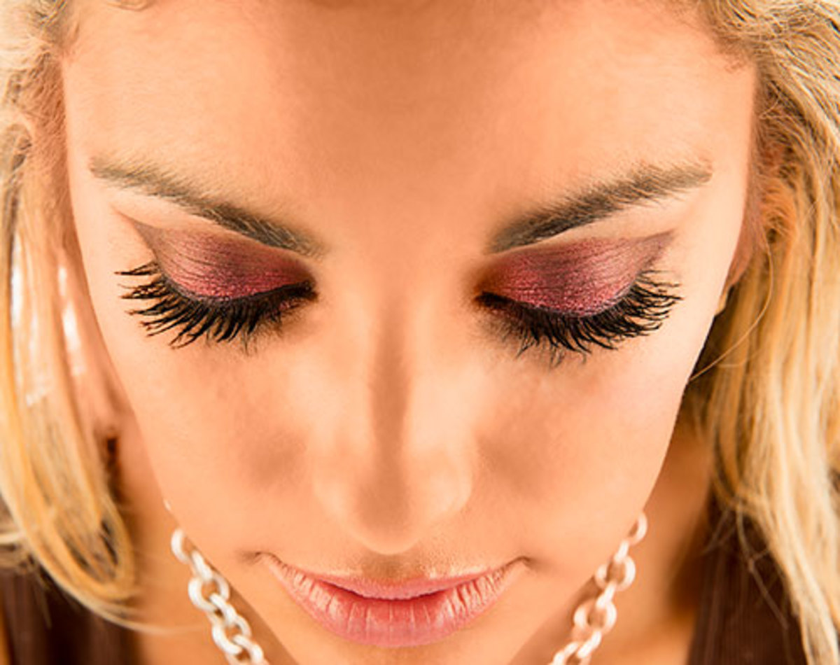 Long and Thick Beautiful Eyelashes In 3 Minutes