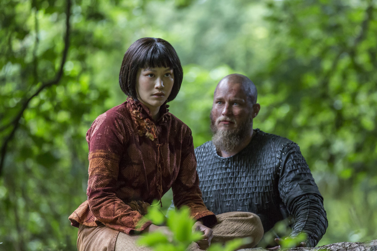 Having a unique Oriental looks in Scandinavian society probably adds to Ragnar's attraction to Yidu