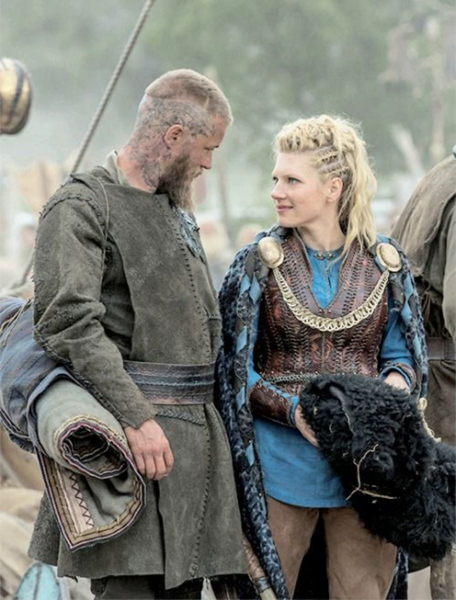 Lagertha's status as a shield-maiden plays its part in Ragnar's lasting admiration of her, even after their divorce