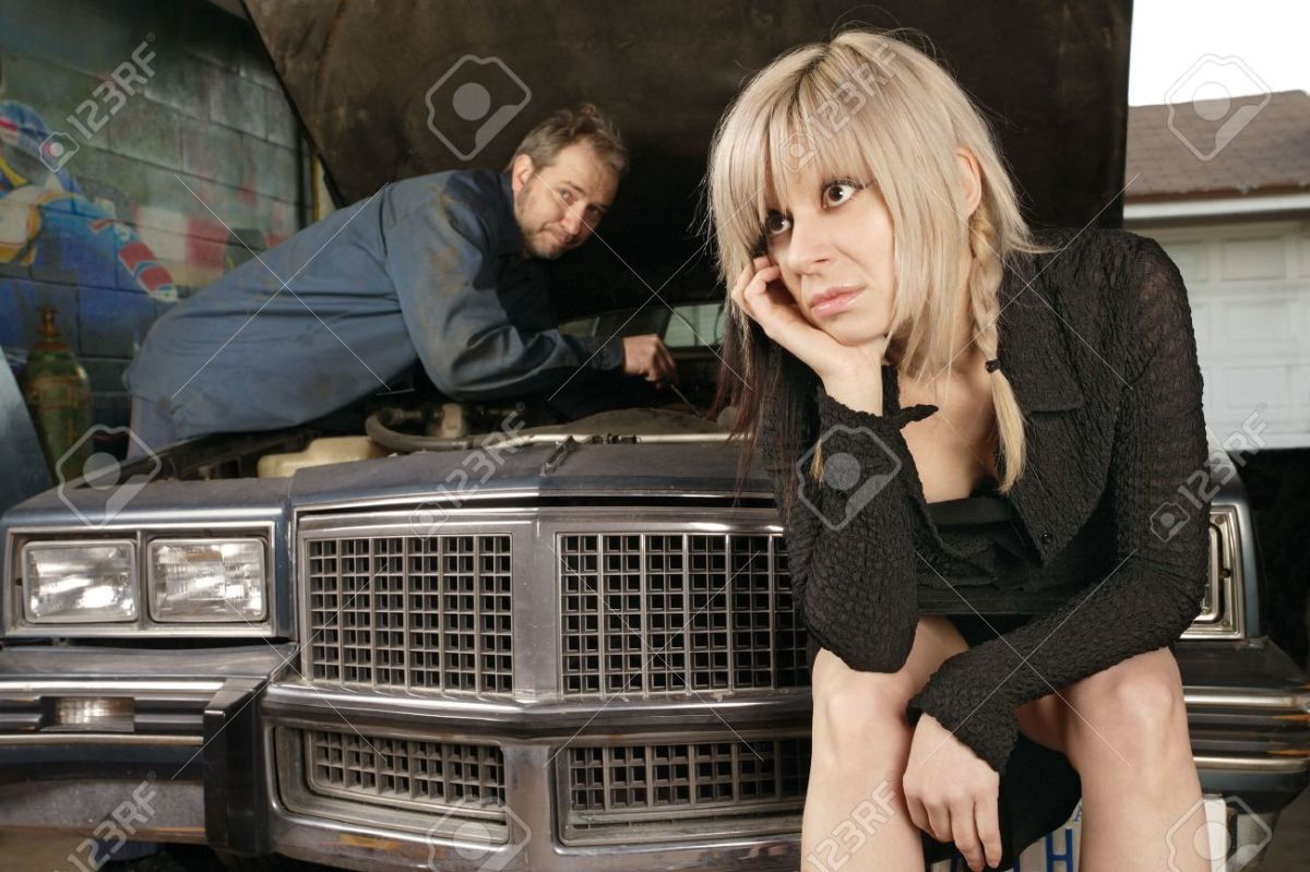 Ladies, this could be you if you trust a shady auto mechanic