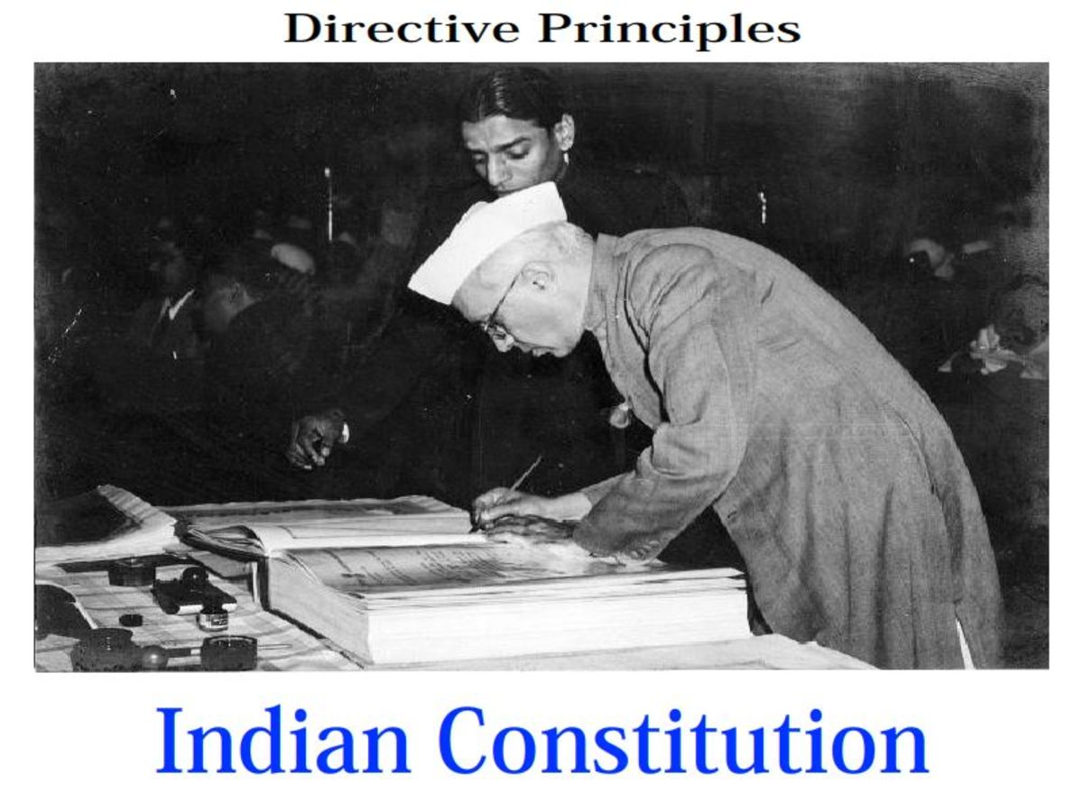 Directive Principles of State Policy (DPSP) of Indian Constitutuion