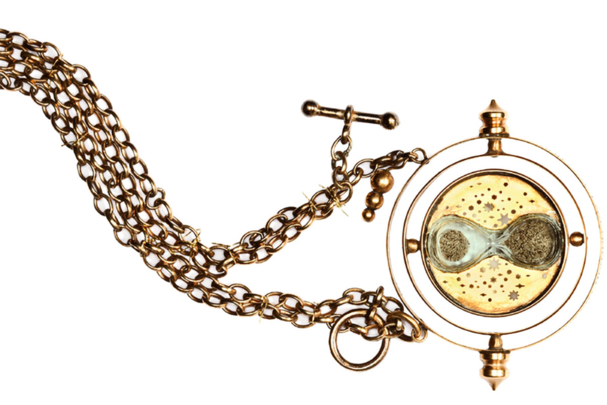 The miraculous Time-Turner, featured in Book 3: The Prisoner of Azkaban.
