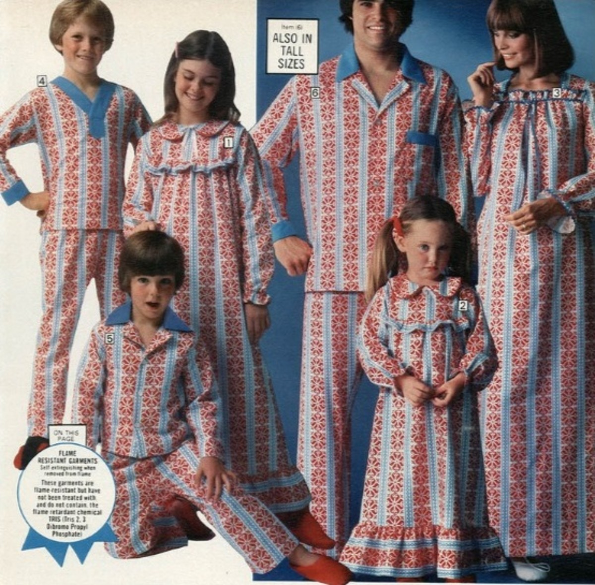 Pajamas for everyone the whole family