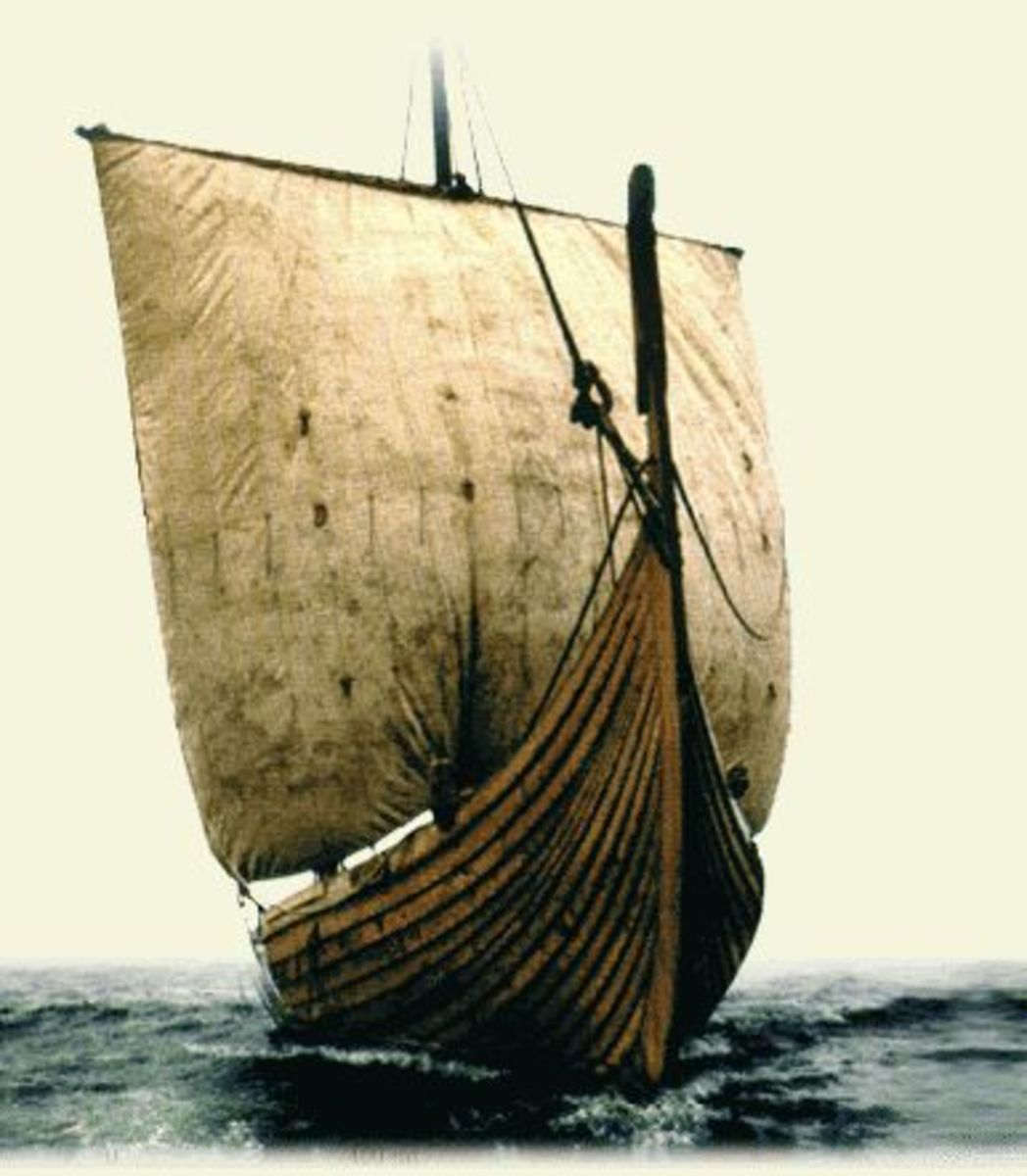 The fastest mode of transport was the ship, for warfare, trade and discovery