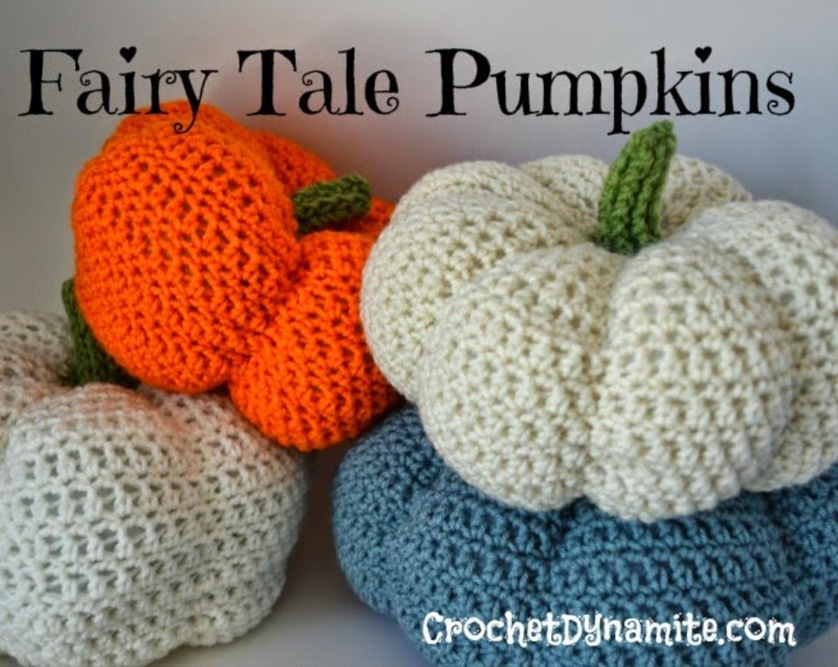 Crochet pumpkin free pattern