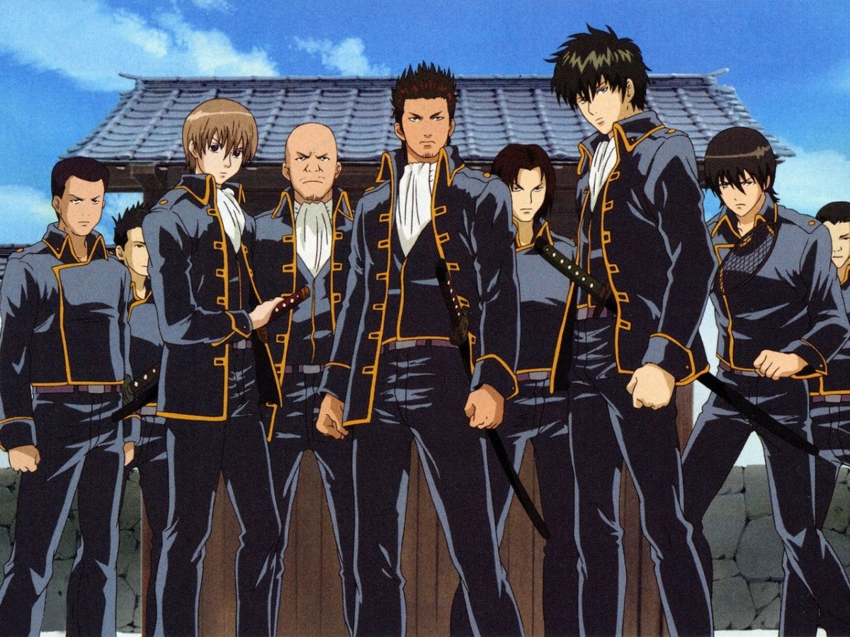 Shinsengumi group.