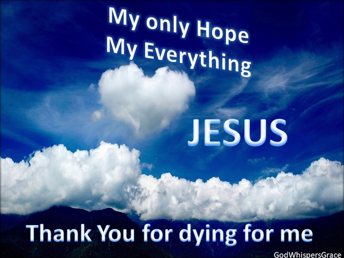 The Lord Jesus Died For You!!