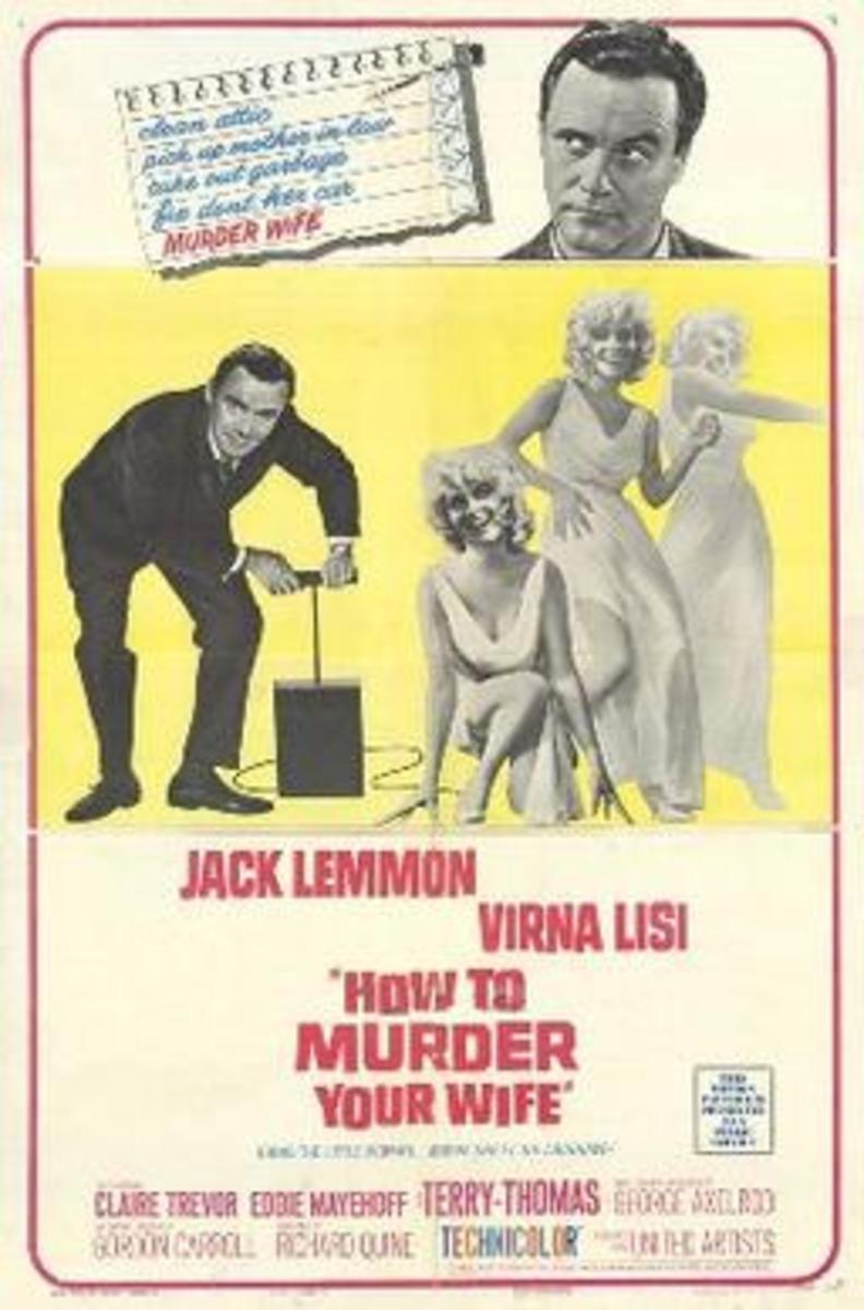 How to Murder Your Wife film poster