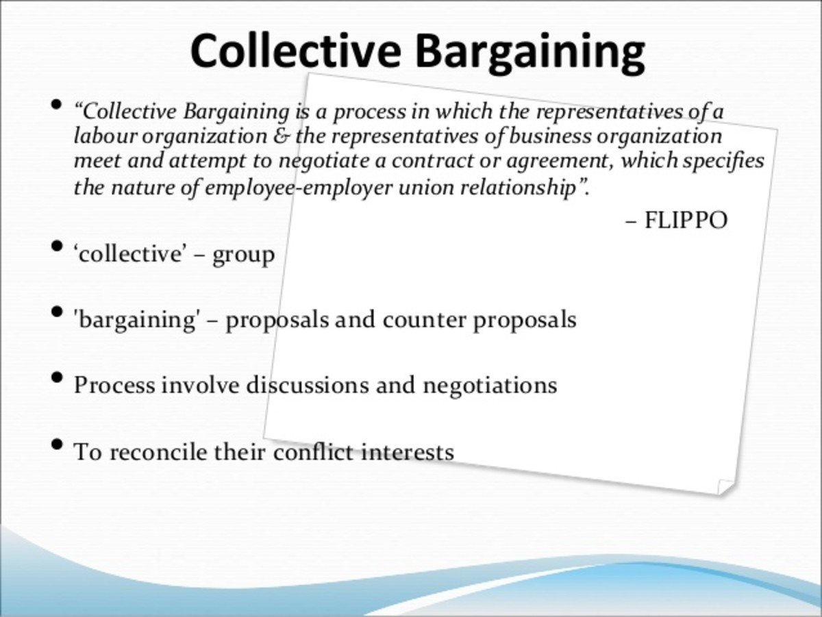 collective bargaining structure in the us