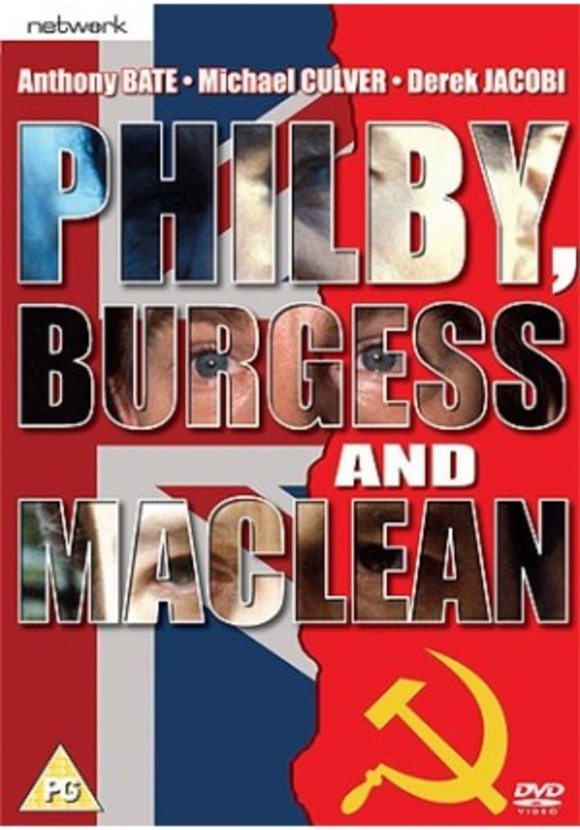 Philby, Burgess and MacLean DVD - follow the whole sordid story from its roots at Cambridge... See below