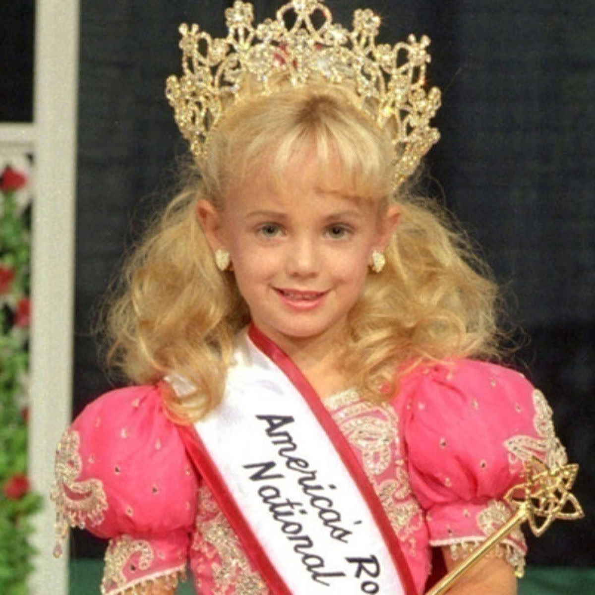 One of the many pageant photos the media chose to use.