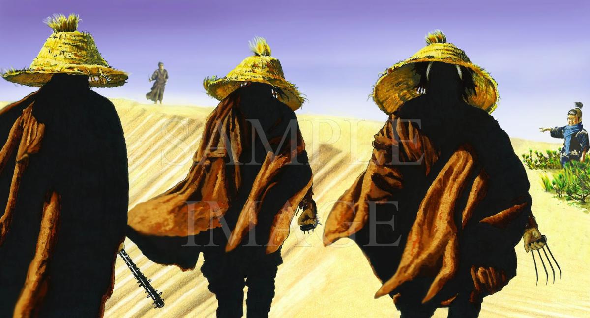 Three Masters of Death