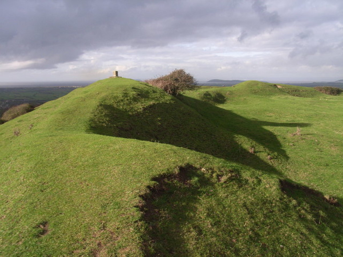 Evidence of Iron Age Fort on Brent Knoll