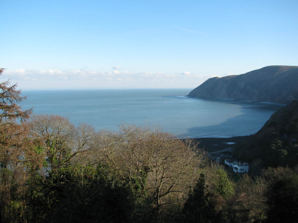 Beautiful North Devon Coast from Lynton