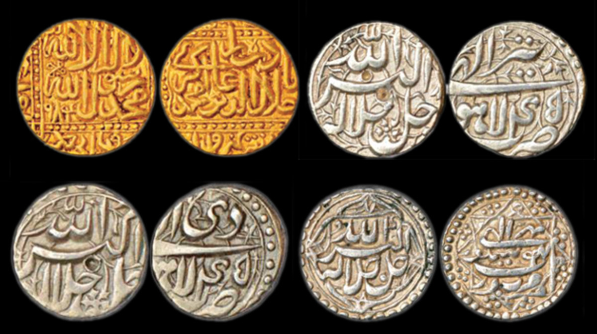 Coins during Akbar's reign