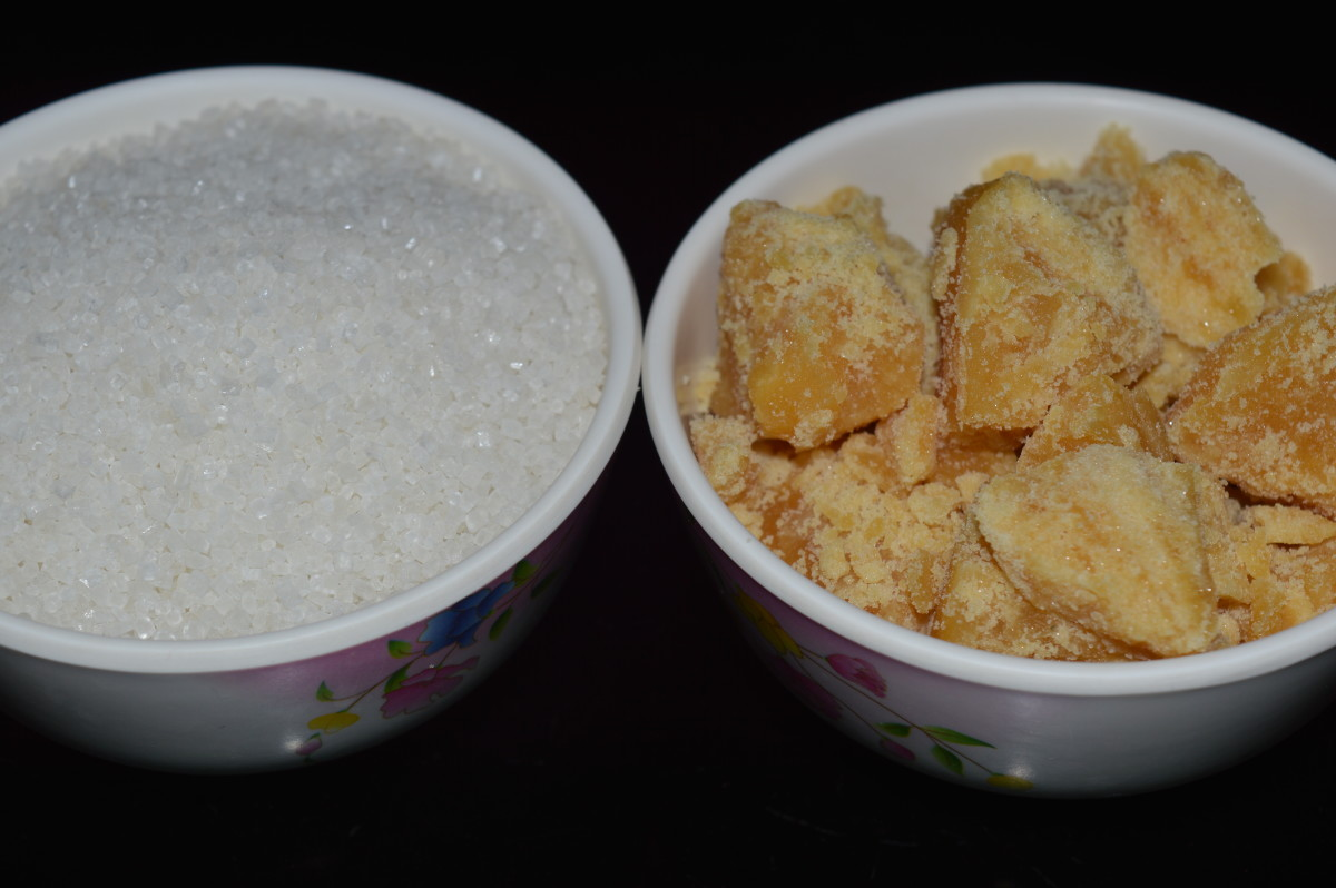 Sugar and jaggery