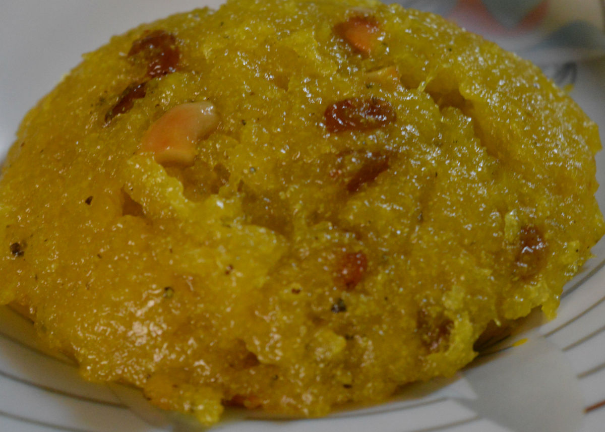 Ash gourd Halwa(sweet) made using sugar