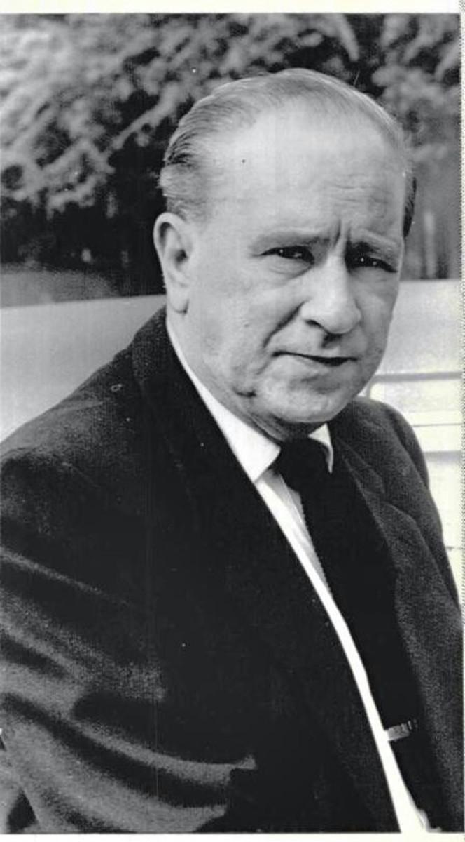 Bud Abbott in the 1960s.