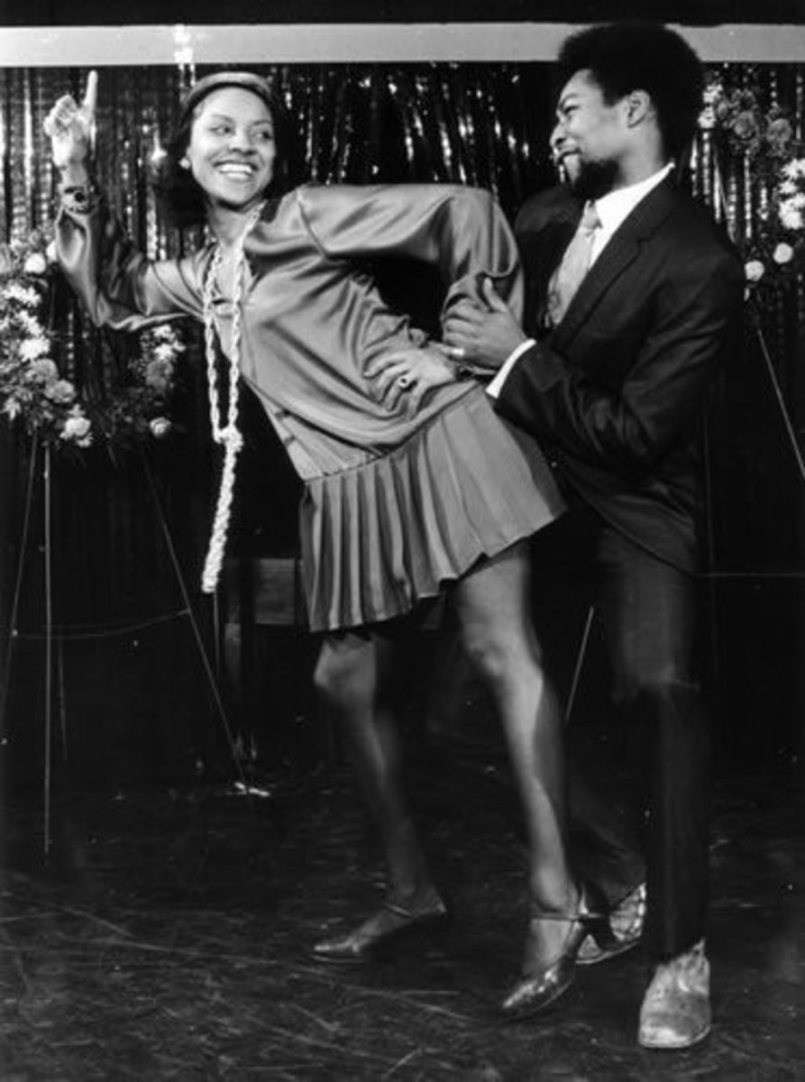 Phylicia Rashad & Victor Willis (second husband & original lead singer of The Village People)