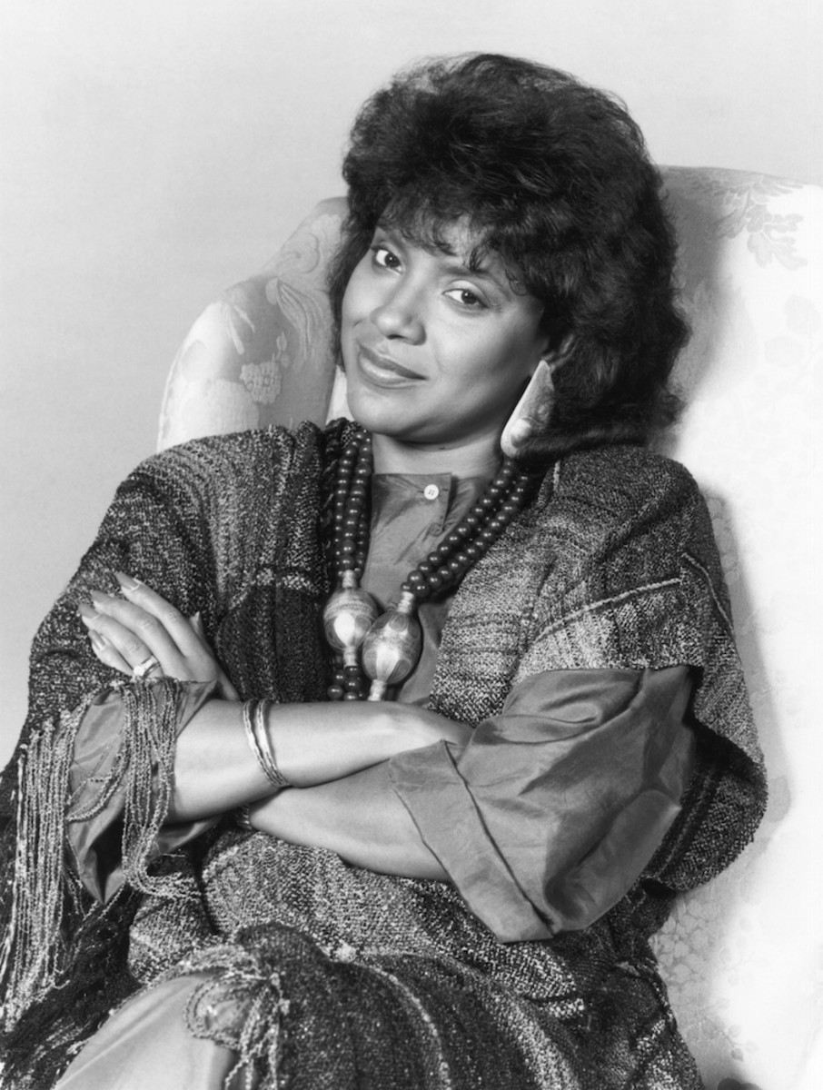 Phylicia Rashad in the 80s