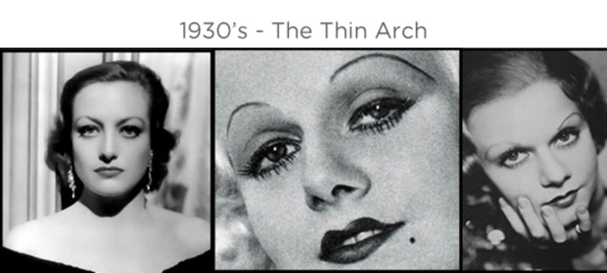 Examples of the thin arch trend in the 1930s