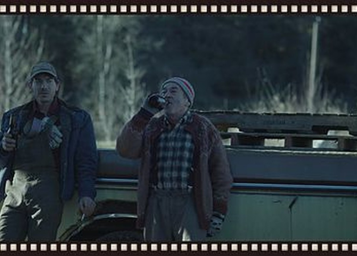 Portrayal of the father and son, in Black Fly