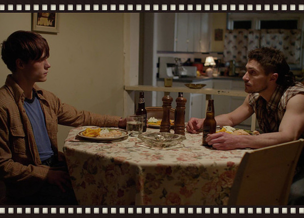 Jake and Noel in Kitchen, Black Fly movie