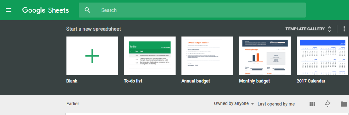 Google Sheets is a spreasheet app for the browser