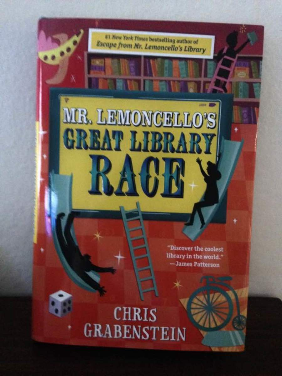Mystery and Puzzles Combine in a New Adventure Book with Mr. Lemoncello