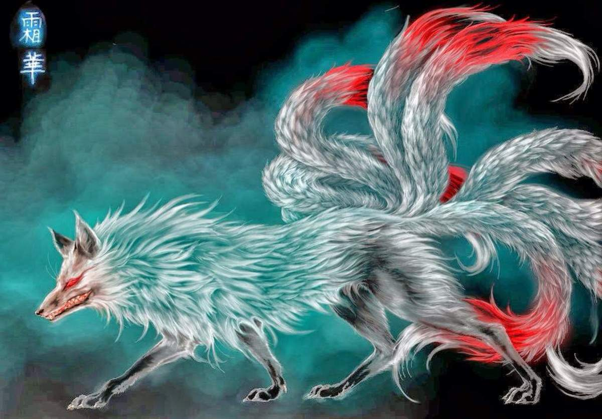 Nine Tailed fox in Japanese Folklore