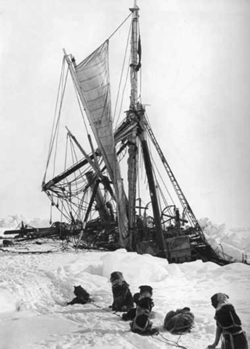 The Endurance Sinking, November 2015