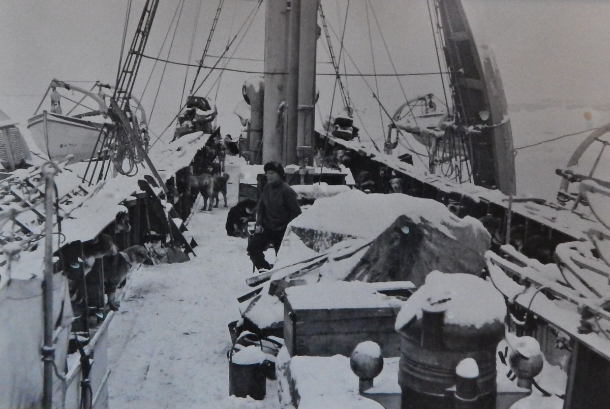 Aboard The Endurance (Photo displayed inside The South Pole Inn)