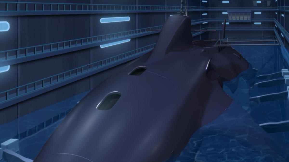 Black Knights' submarine.