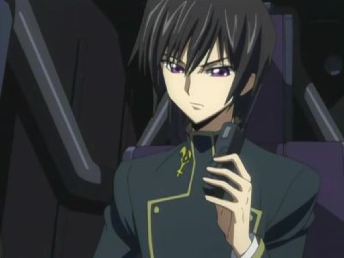 Lelouch inside the Knightmare Sutherland.