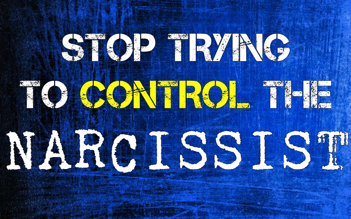 Stop Trying to Control the Narcissist
