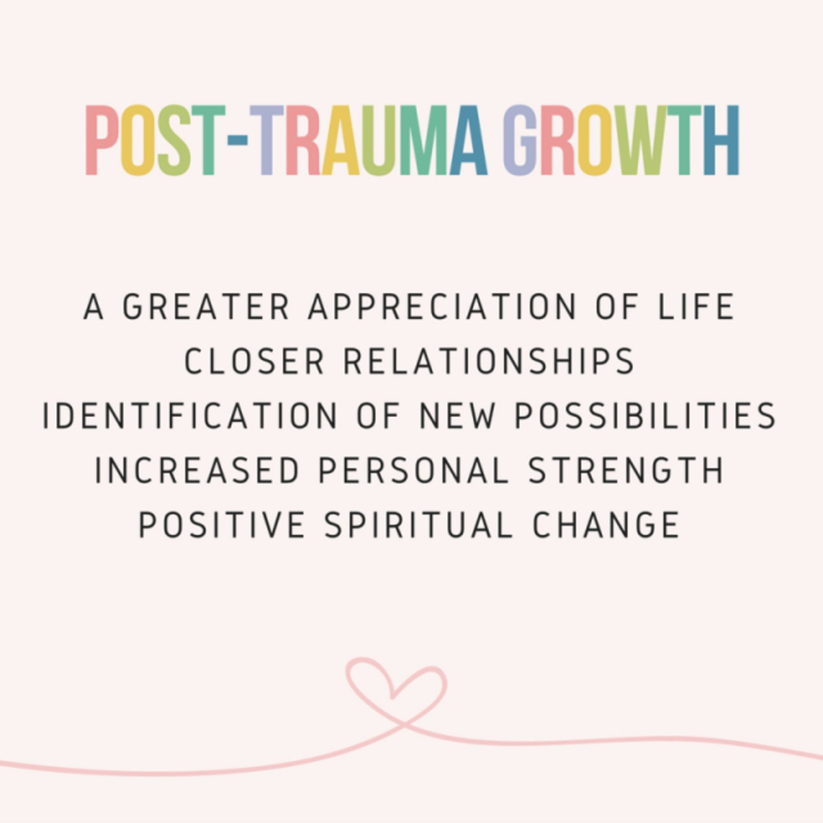 Post Traumatic Growth: The Dawn after Night