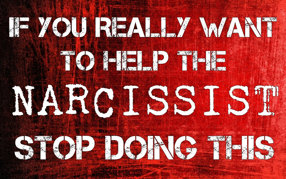 If You Really Want to Help The Narcissist, Stop Doing This
