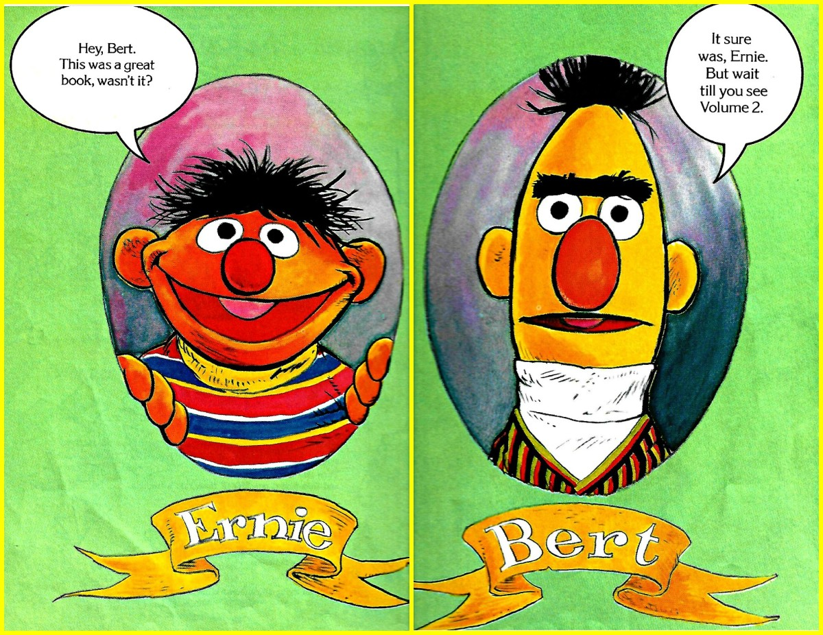 Bert and Ernie are two of the main characters in the Sesame Street Library series with Jim Henson's Muppets. Needless to say they are a franchise by themselves, the are well known and loved around the world.