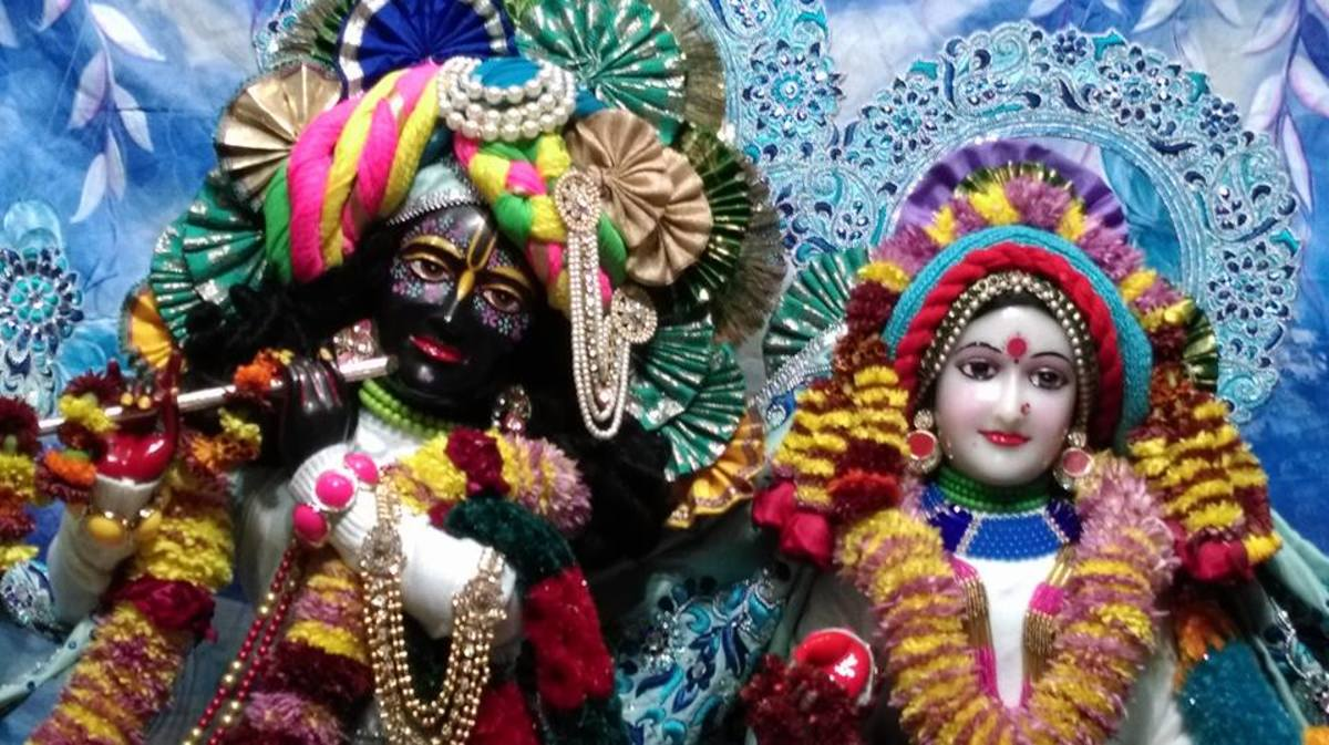 Sri Sri Radha Madhav : Deities at ISKCON Chandigarh