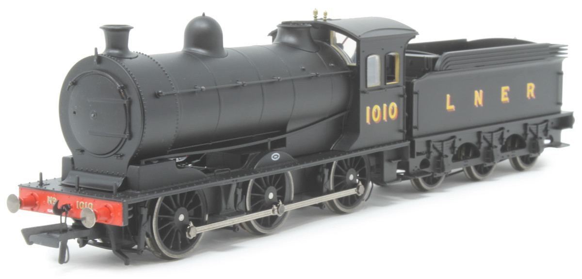 One of the liveries shown: LNER No.1010