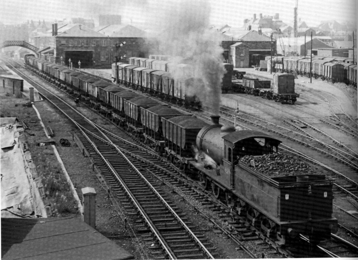 Class J27 65894 in July, 1967, Monkwearmount two months before the end of steam in the North East
