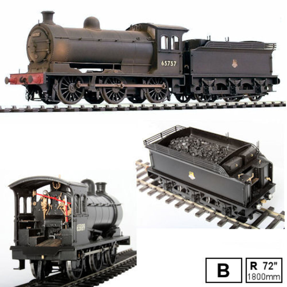 In 7mm scale ('O' Gauge) we have a first class offering from DJH Kits