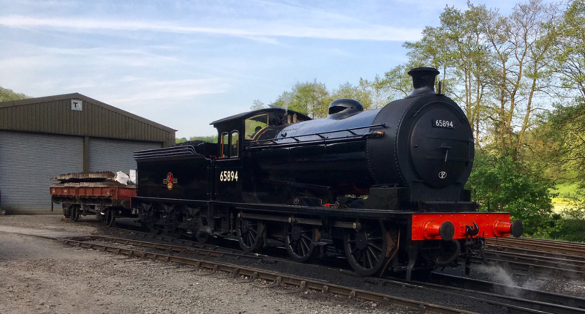 65894 rests at Pickering after testing (Neal Woods)