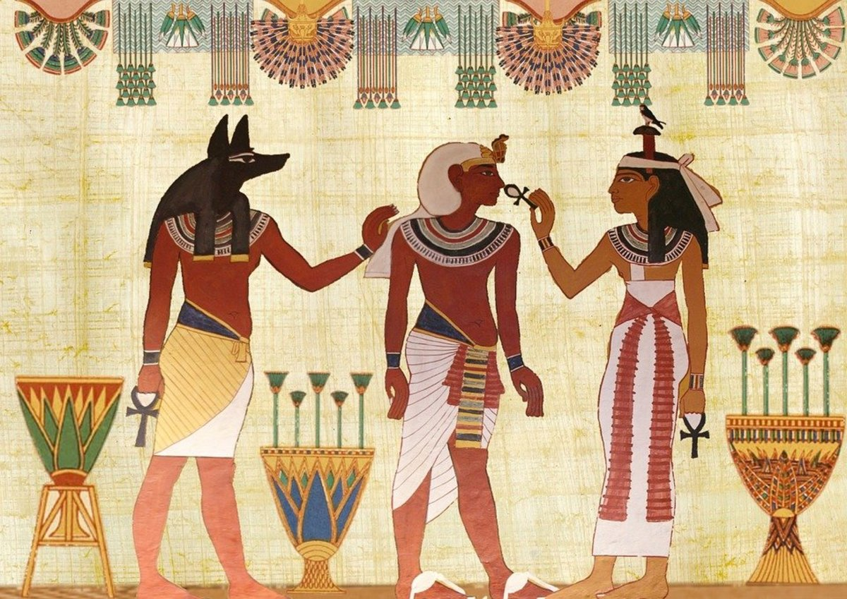 A Comparison of The Egyptian and Hebrew Creation Myths