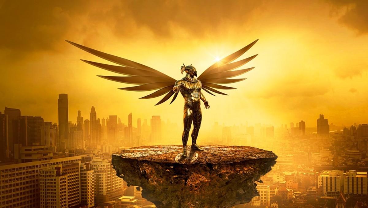 Ra / Re, the Egyptian Sun God