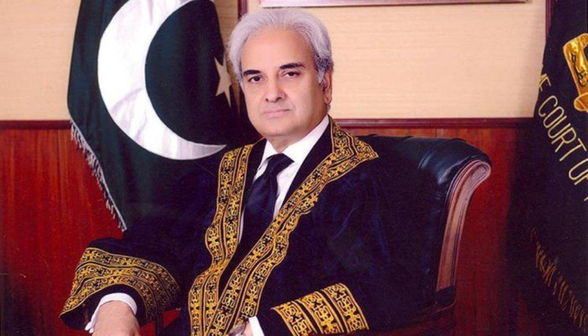 Justice (R) Nasirul Mulk.