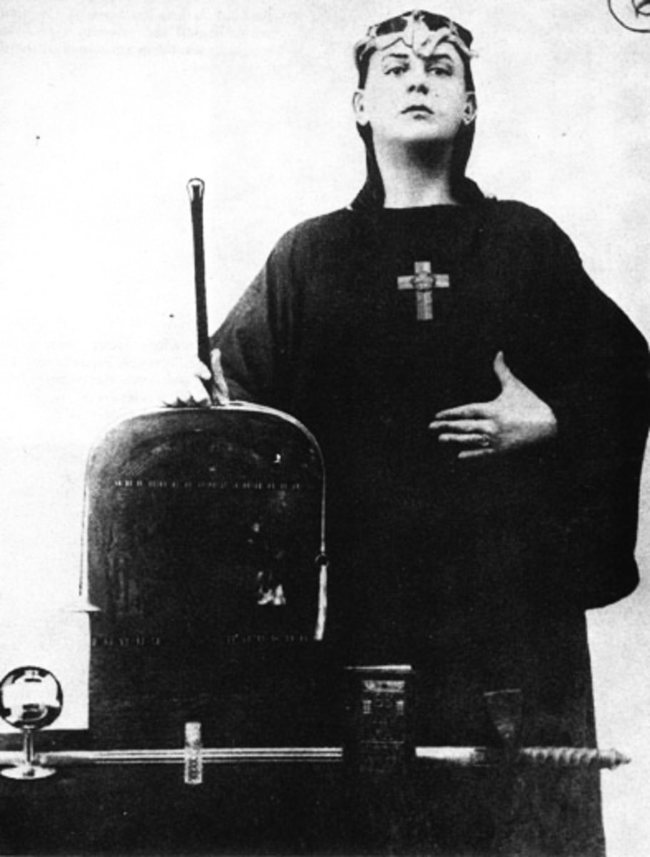Aleistair Crowley, father of Thelema.