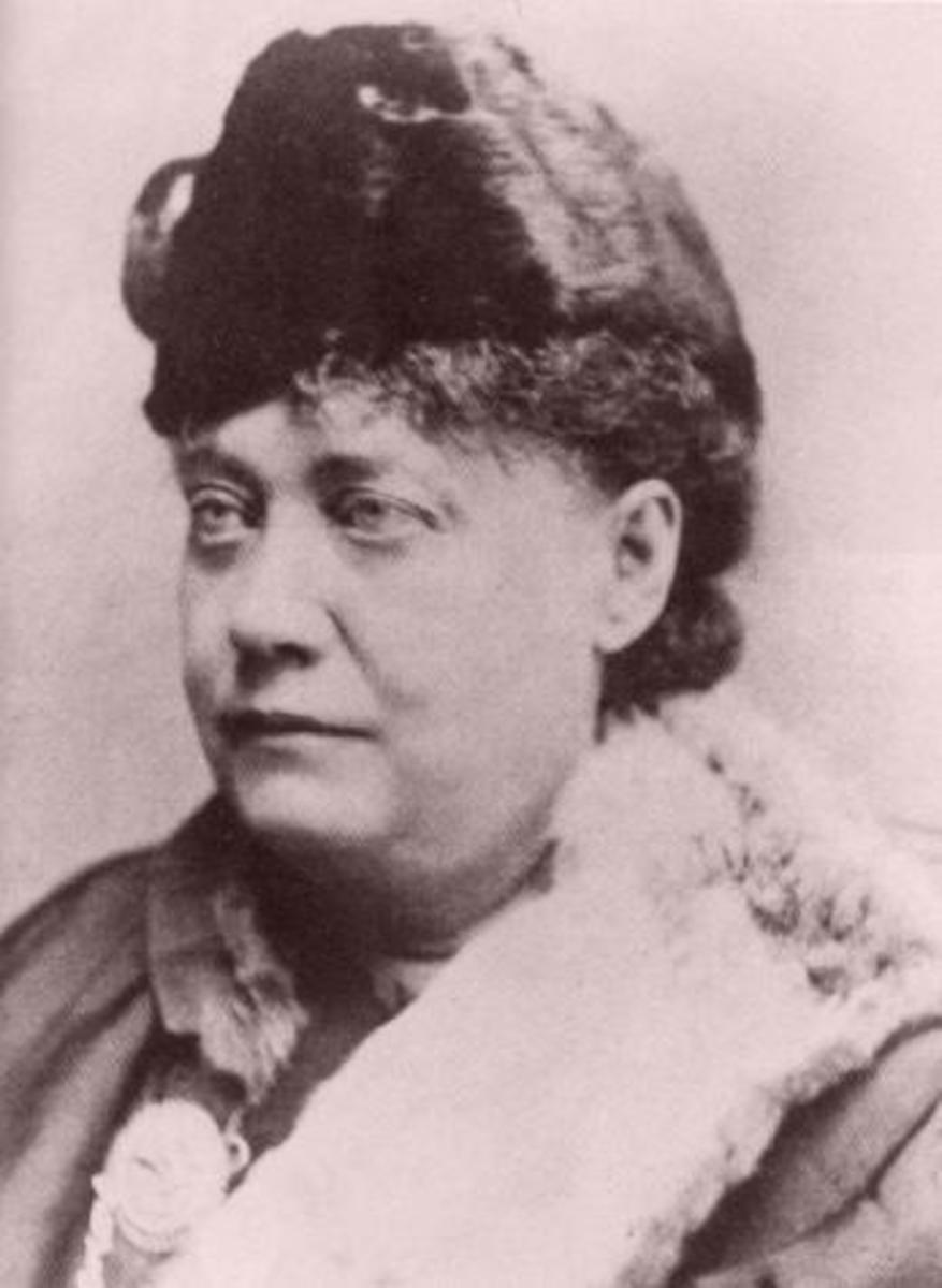 Helena Blavatsky, mother of Theosophy.