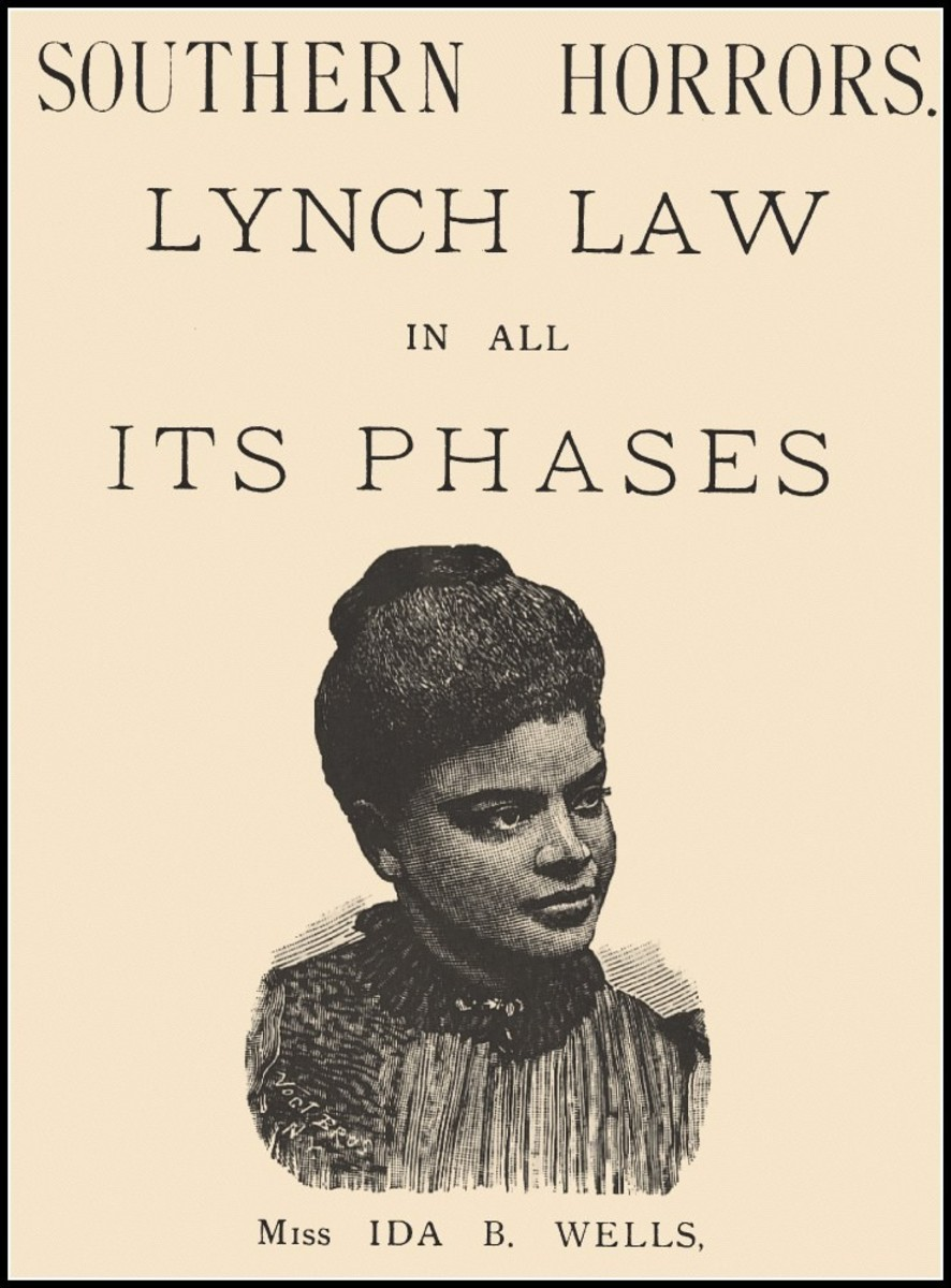 Cover, Southern Horrors: Lynch Law In All Its Phases, by Ida B. Wells.