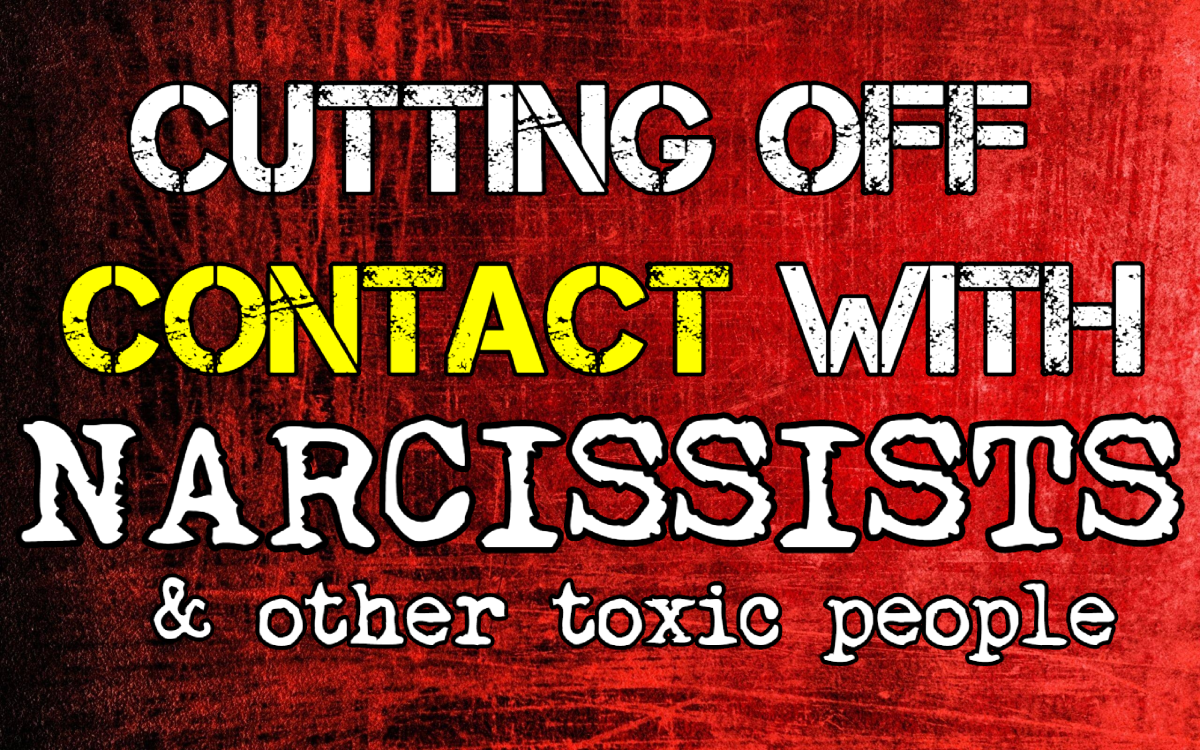 Cutting Off Contact With Narcissists & Other Toxic People